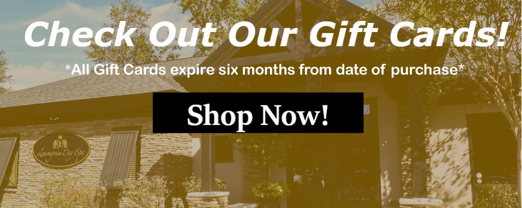 Check Out Our Gift Cards! All Gift Cards expire six months from date of purchase. Shop Now!